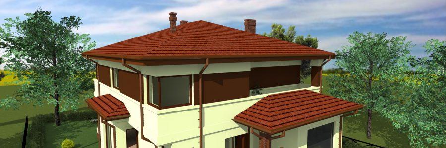 Dom jednorodzinny Puławy – Domek C